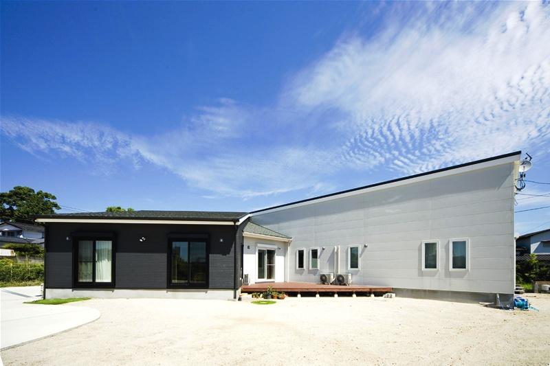 南側に開けた平屋の注文住宅HARMONY01