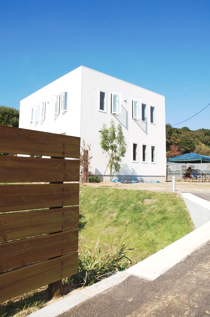 板張り内装の注文住宅Simple Box01