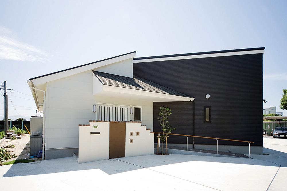 南側に開けた平屋の注文住宅HARMONY02