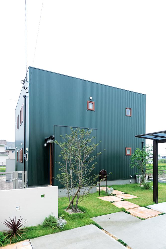 深い緑のSimple Box01