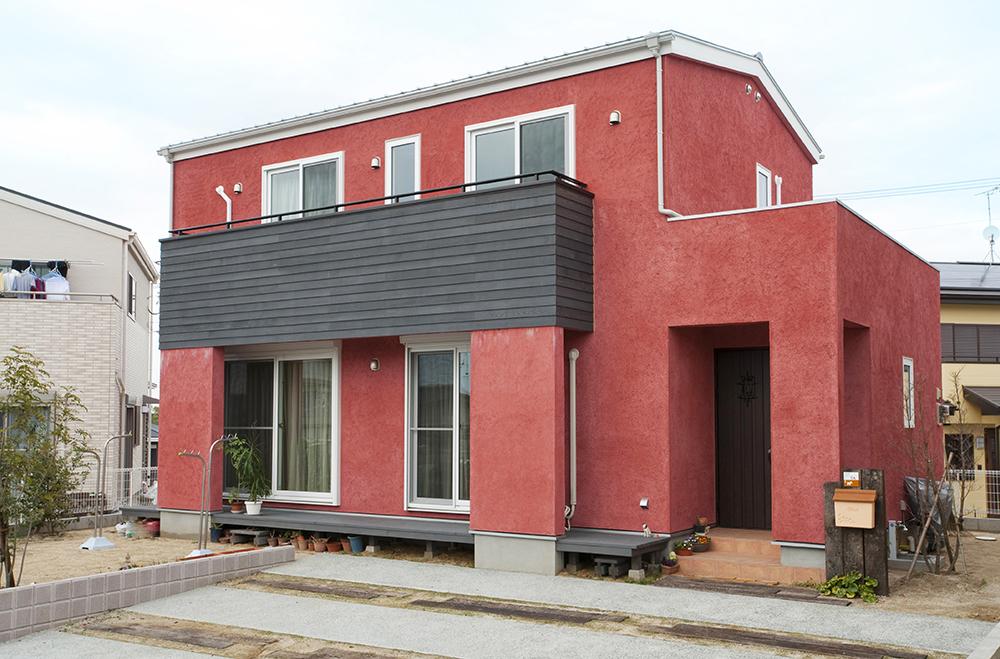 赤い家01