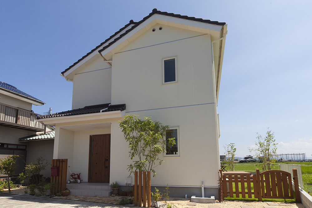 白木のナチュラルハウス01