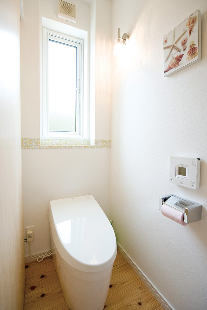 板張り内装の注文住宅Simple Box05