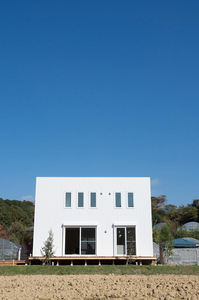 板張り内装の注文住宅Simple Box02
