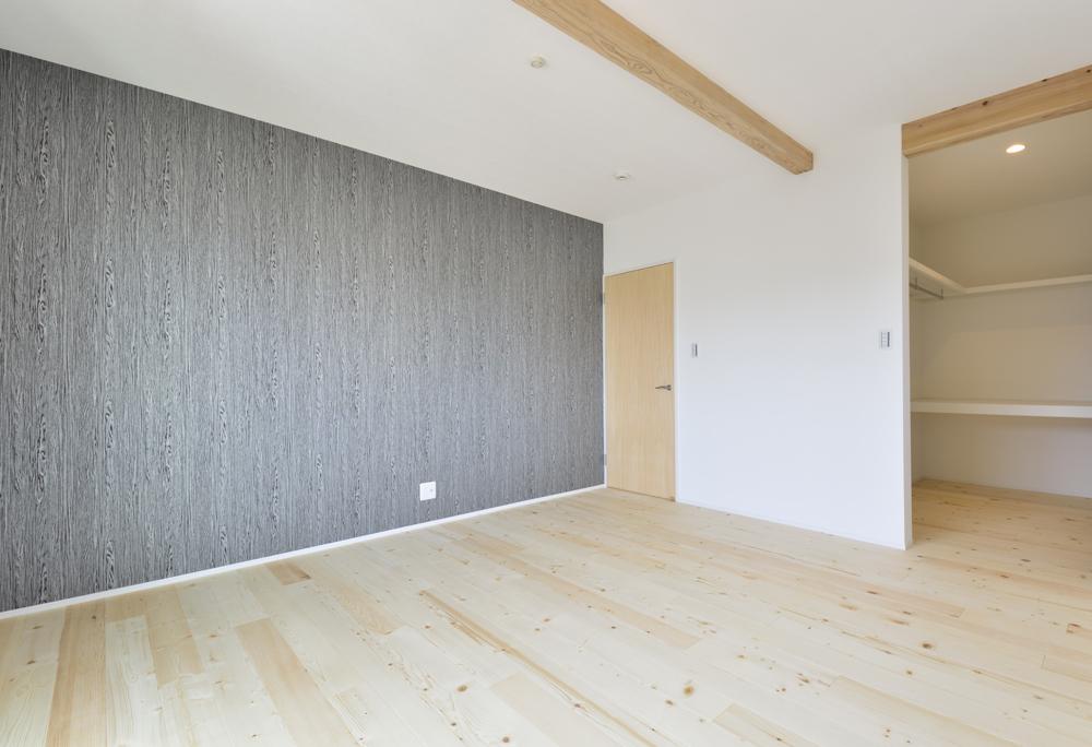 シューズクロークと広いLDKの注文住宅Simple Box09