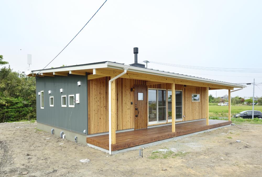 薪ストーブがある平屋、COVACO(コバコ)01
