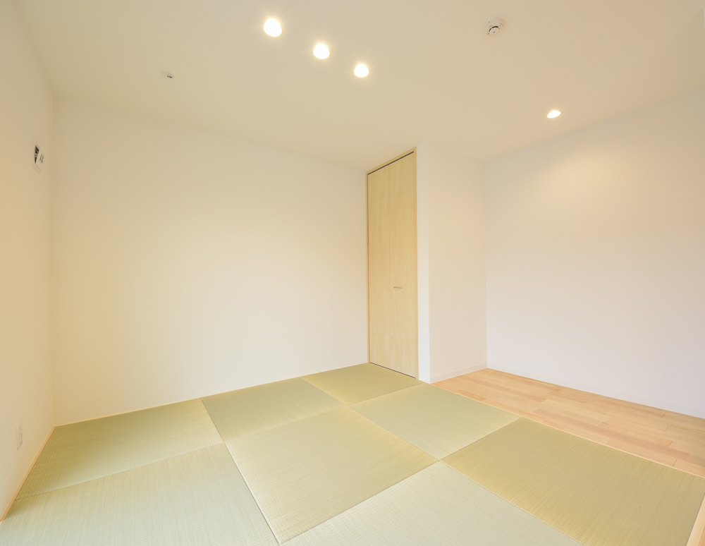 広いLDKに和室のある注文住宅Simple Box+Box(シンプルボックス)06