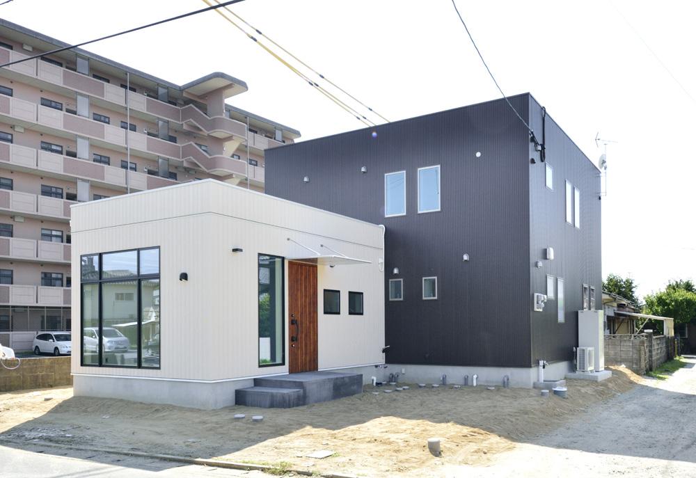 アトリエと2階リビングのある注文住宅Simple Box+Box(シンプルボックス)19