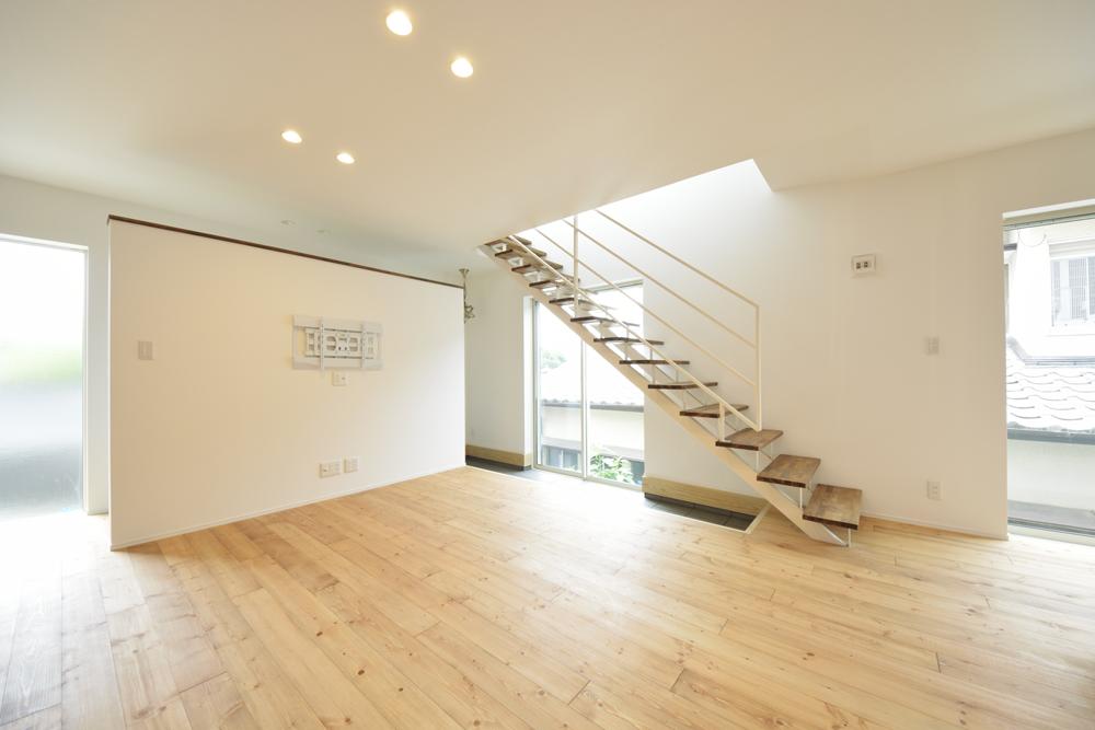LDKに土間と和室がある注文住宅Simple Box05