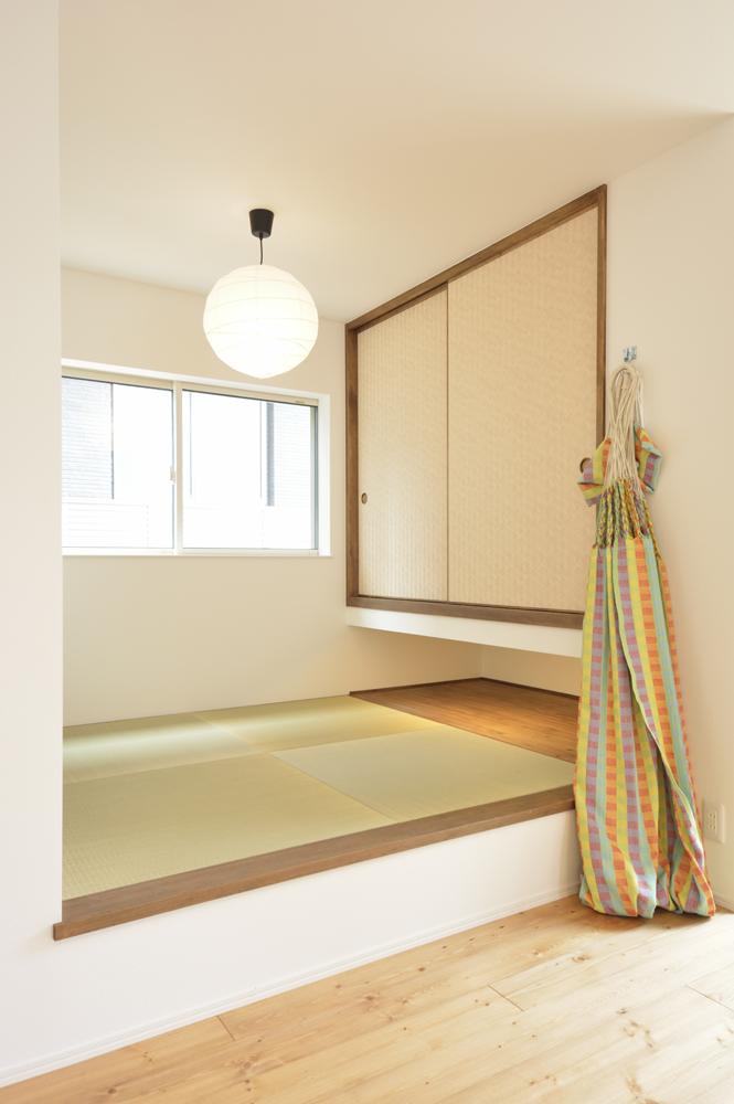 LDKに土間と和室がある注文住宅Simple Box06
