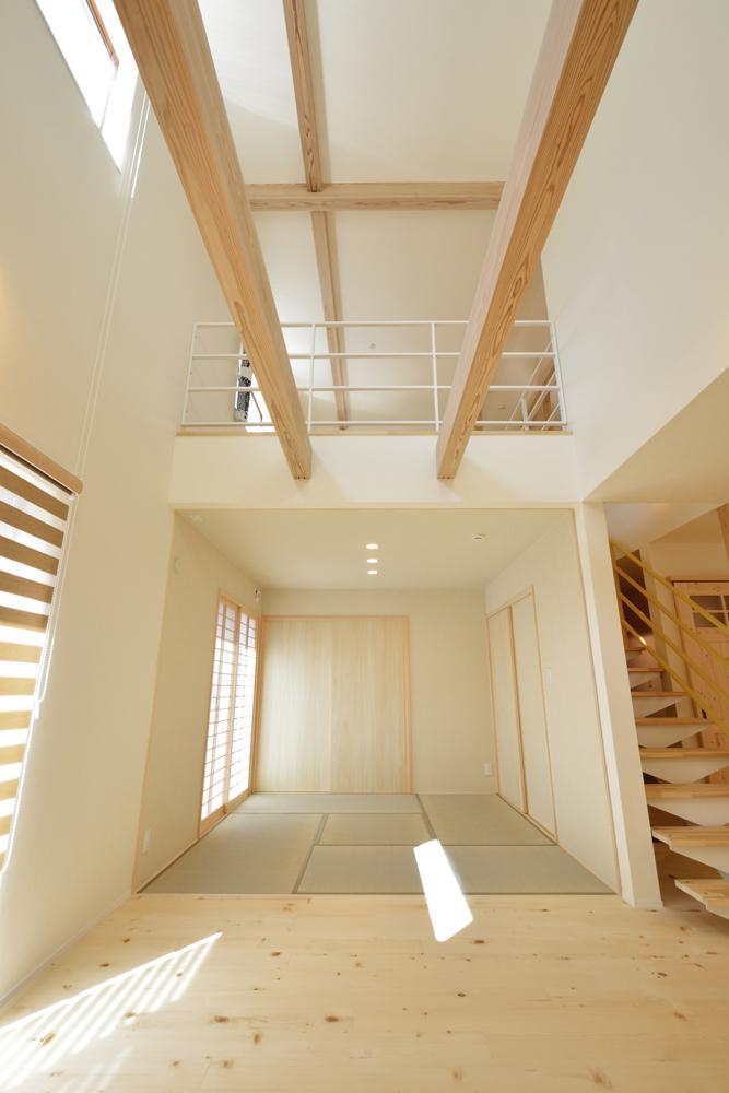 リビングと玄関をやさしく結ぶ、注文住宅Simple Box14