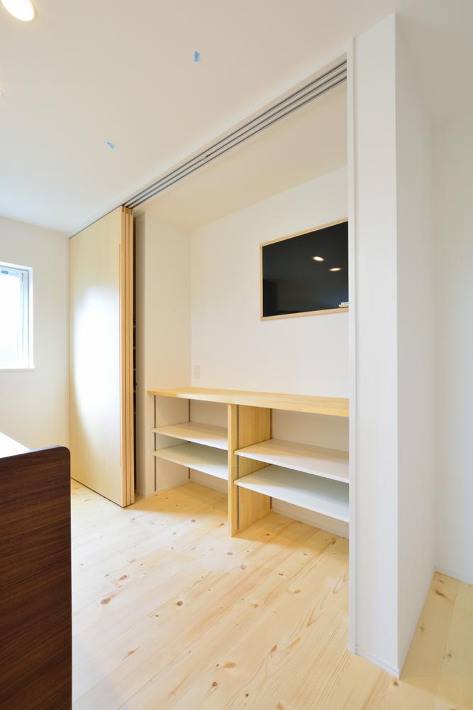 オーダーメイドの造作にこだわった注文住宅 Simple Box04
