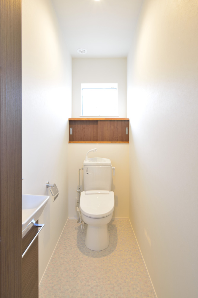 本棚+階段のある平屋、注文住宅 HARMONY18