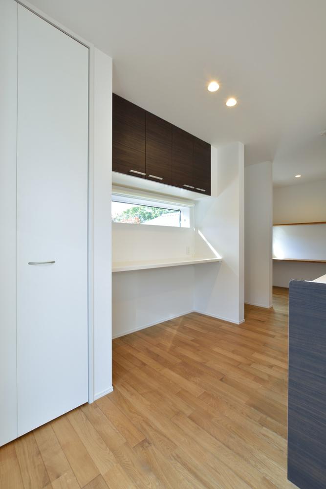 塗り壁をアクセントにした注文住宅 Simple Box+Box07