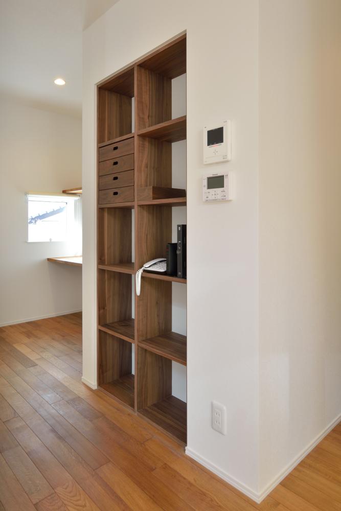 塗り壁をアクセントにした注文住宅 Simple Box+Box08