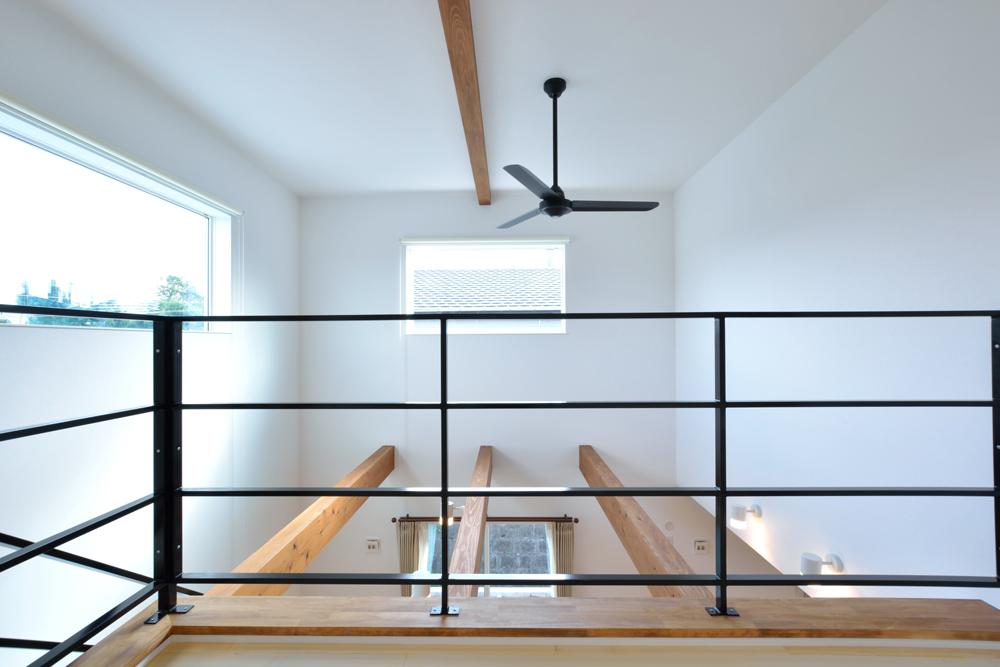 塗り壁をアクセントにした注文住宅 Simple Box+Box10