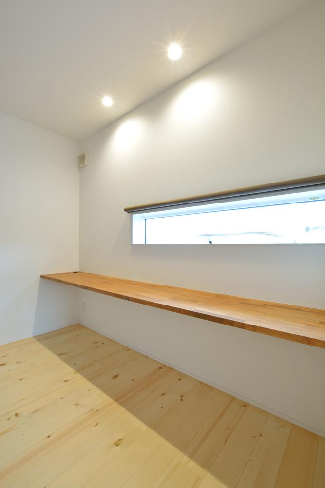 塗り壁をアクセントにした注文住宅 Simple Box+Box15