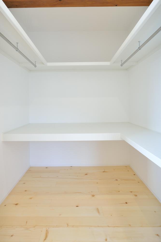 塗り壁をアクセントにした注文住宅 Simple Box+Box14