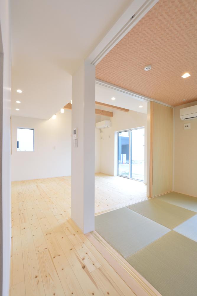 和室+LDK+吹き抜けの注文住宅HARMONY04