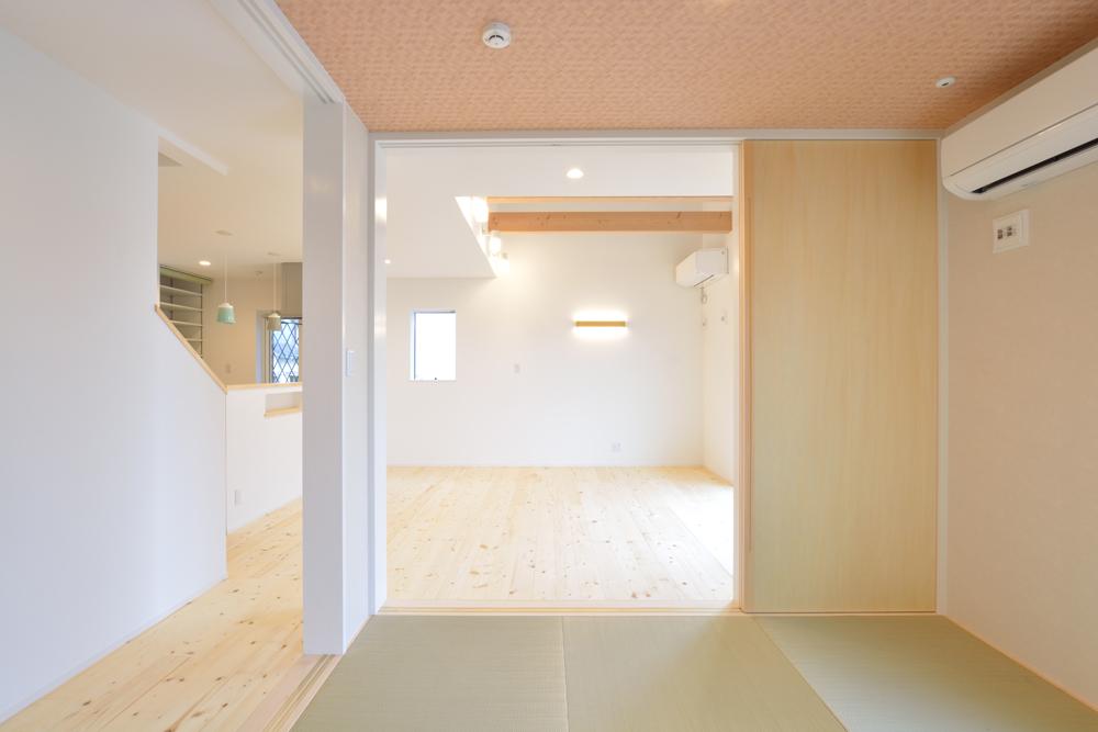 和室+LDK+吹き抜けの注文住宅HARMONY05