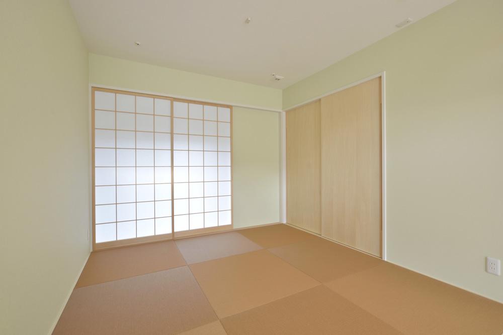 青と白の四角いお家、注文住宅Simple Box04