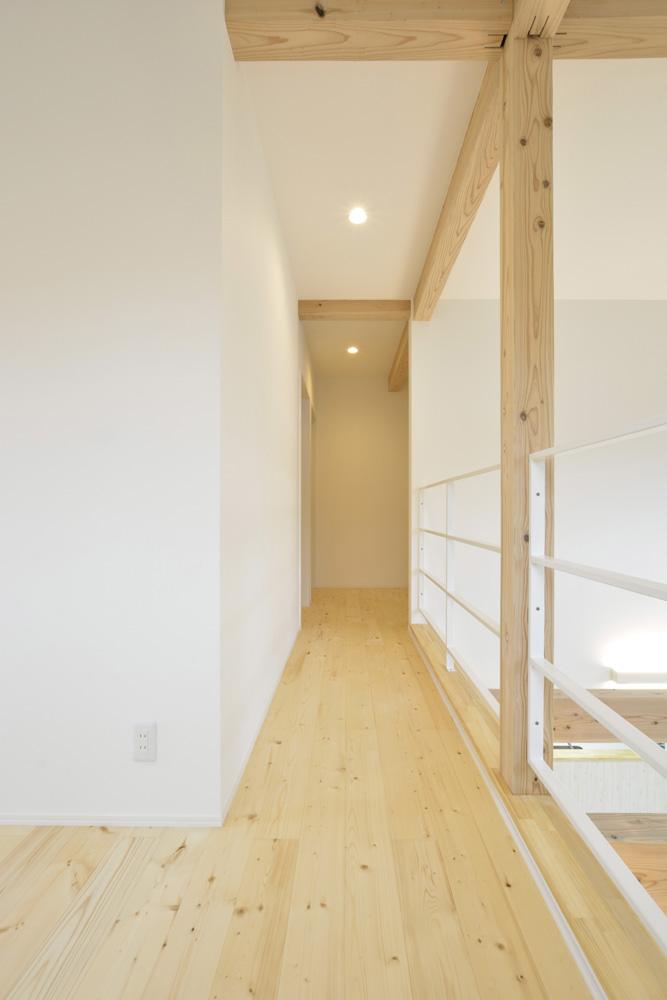 青と白の四角いお家、注文住宅Simple Box15