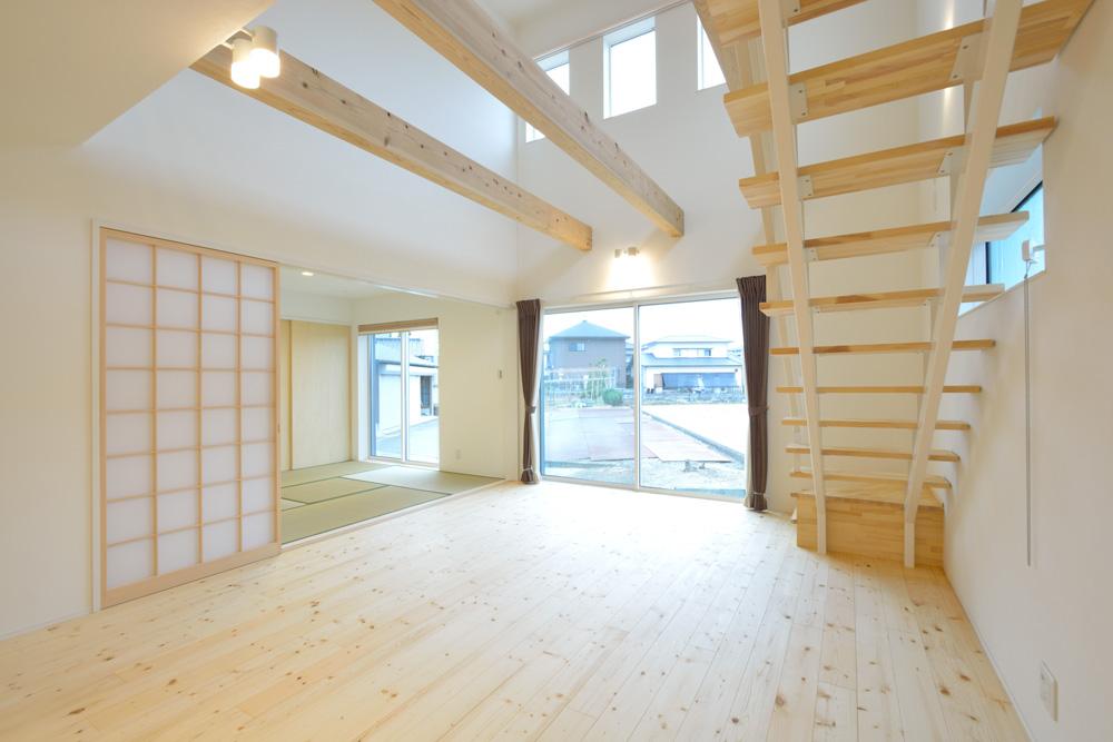 収納スペースを多く設けた注文住宅Simple Box09