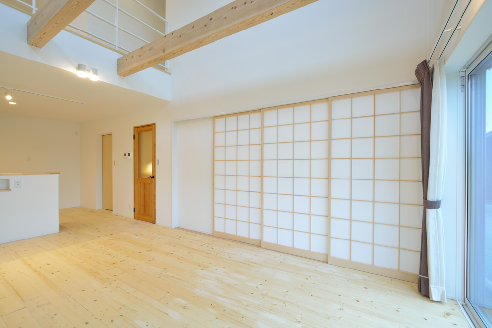 収納スペースを多く設けた注文住宅Simple Box06