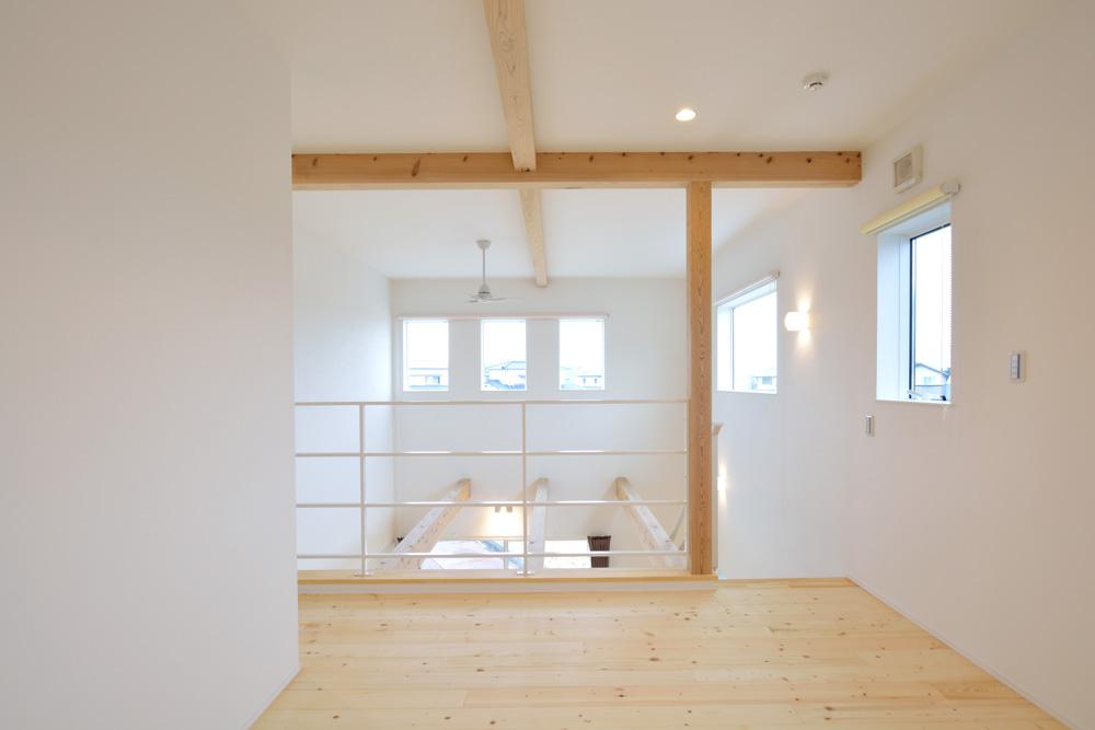 収納スペースを多く設けた注文住宅Simple Box14