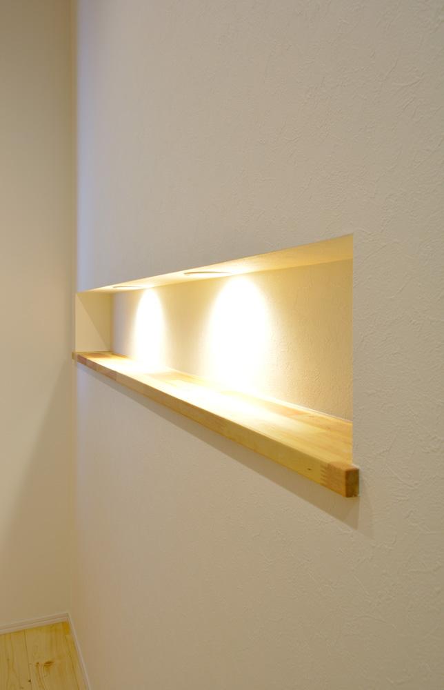 収納スペースを多く設けた注文住宅Simple Box05