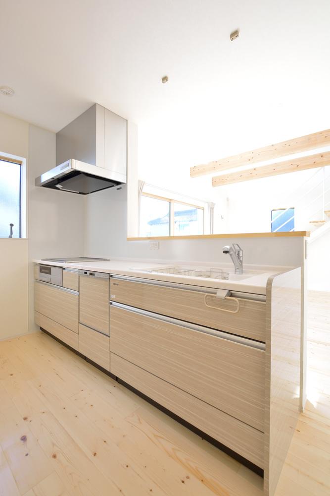 開放感と収納力にこだわった注文住宅Simple Box06