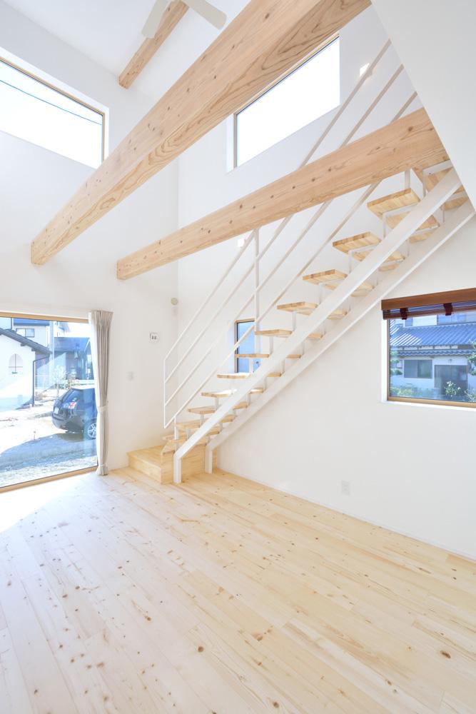 開放感と収納力にこだわった注文住宅Simple Box04