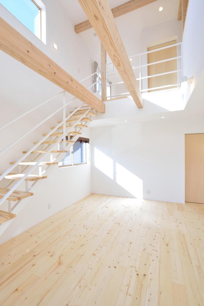 開放感と収納力にこだわった注文住宅Simple Box05