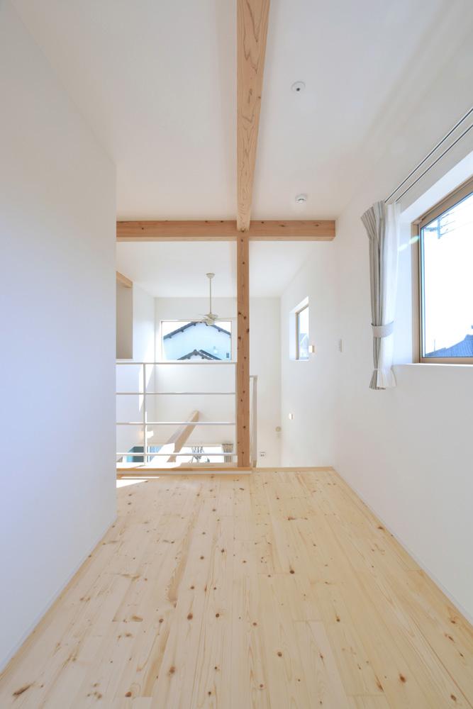 開放感と収納力にこだわった注文住宅Simple Box09
