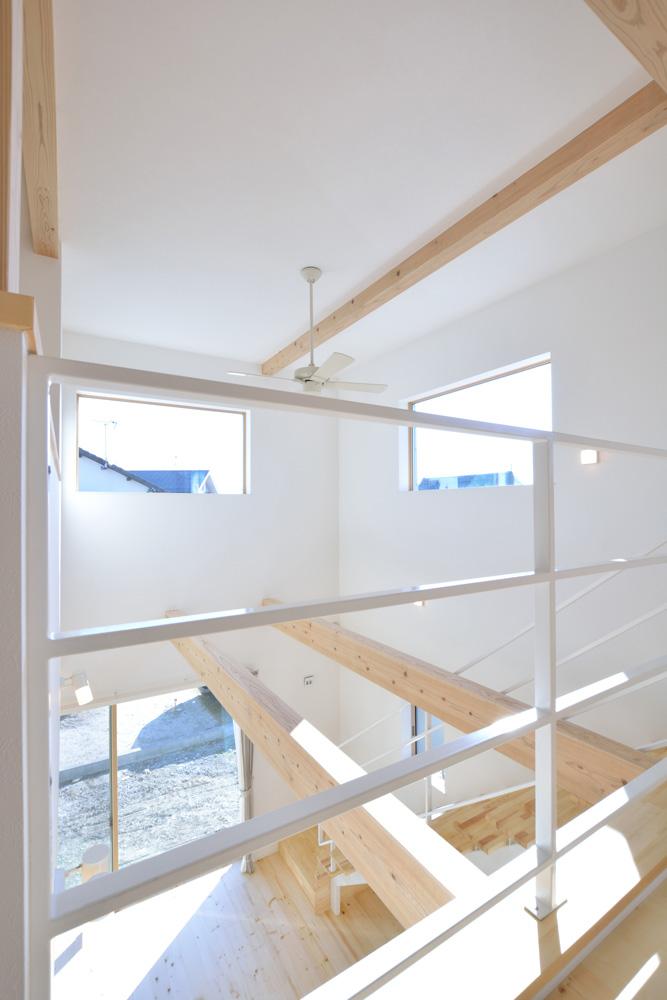 開放感と収納力にこだわった注文住宅Simple Box10