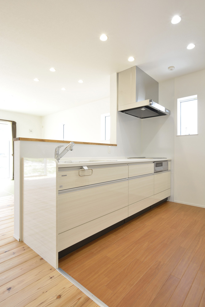 生活動線やフラットな和空間のある注文住宅Simple Box + Box08