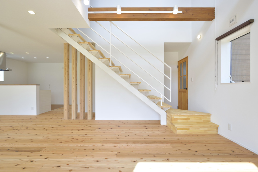 生活動線やフラットな和空間のある注文住宅Simple Box + Box05
