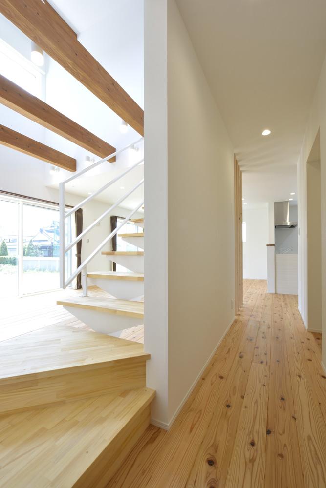 生活動線やフラットな和空間のある注文住宅Simple Box + Box06