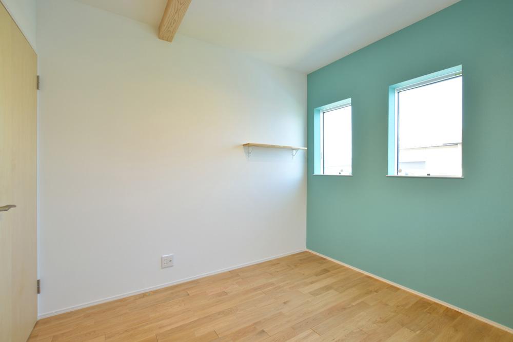 ネイビーの注文住宅 Simple Box16
