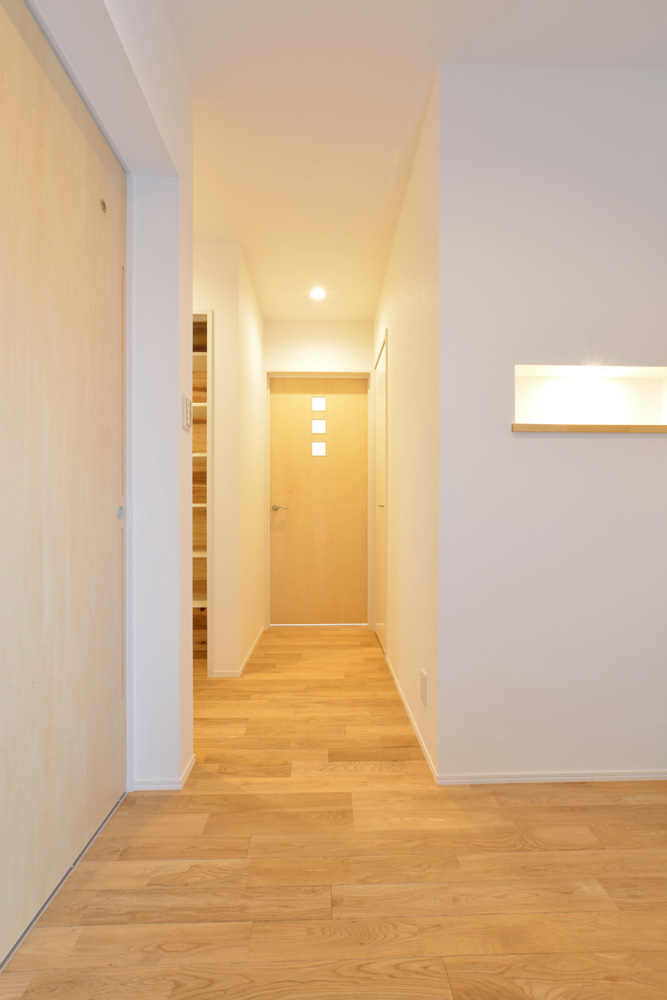 ネイビーの注文住宅 Simple Box18