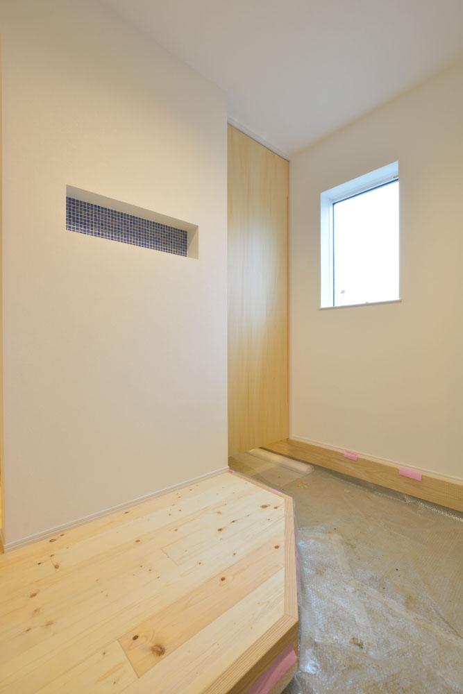 白と青の注文住宅 Simple Box+Box10