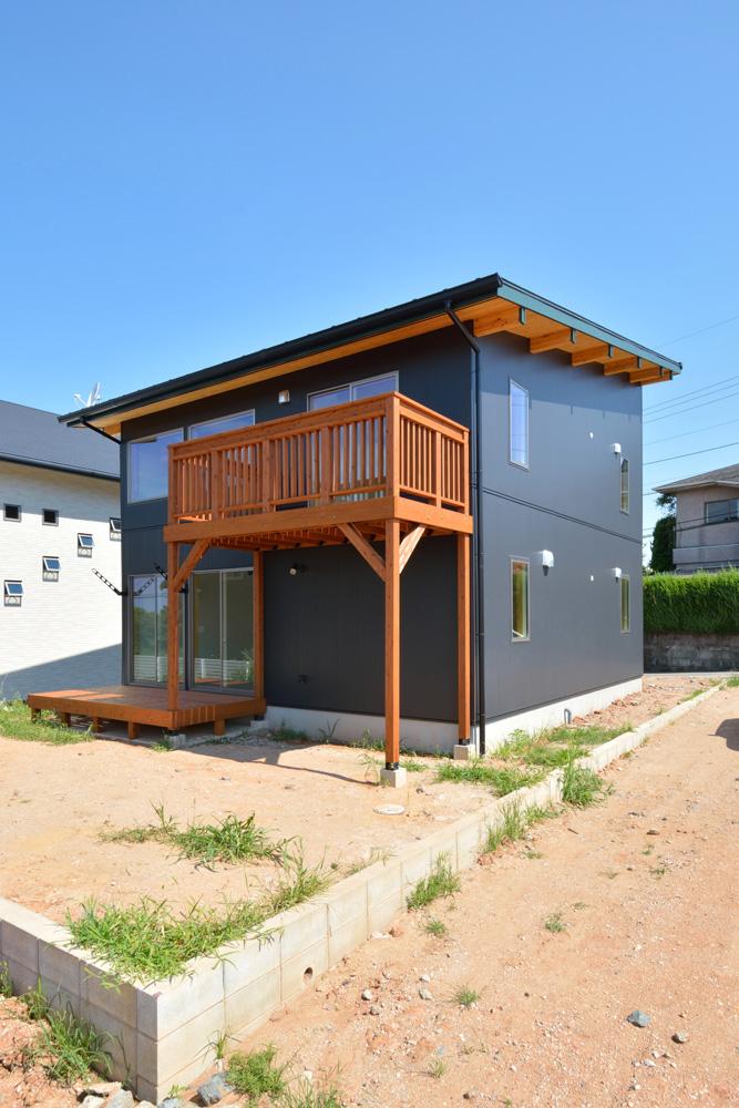 土間とウッドデッキで暮らしを遊ぶ注文住宅BOOOTS01