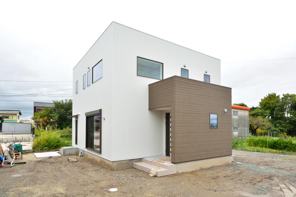 四角いお家、注文住宅 Simple Box+Box(シンプルボックス)02