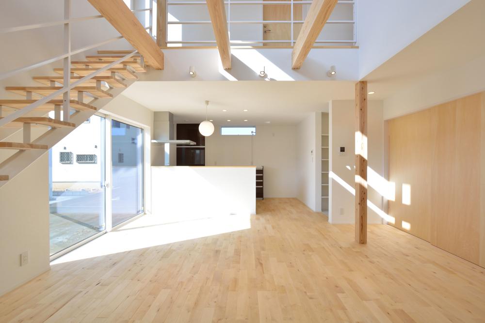 四角の黒いお家、注文住宅Simple Box(シンプルボックス)03