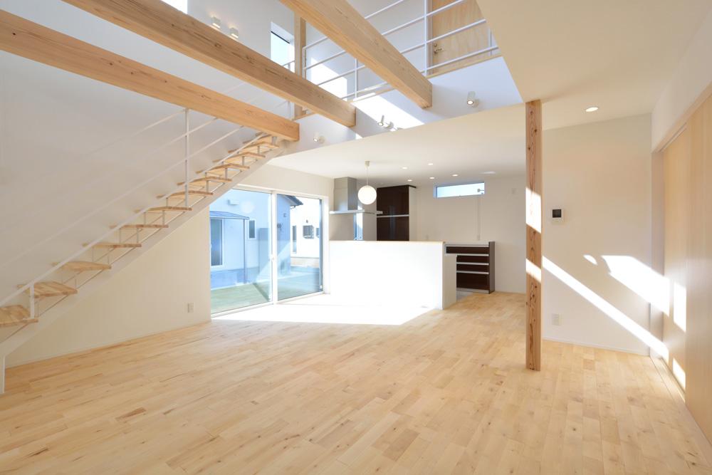 四角の黒いお家、注文住宅Simple Box(シンプルボックス)04