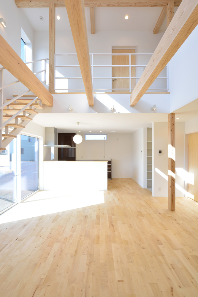 四角の黒いお家、注文住宅Simple Box(シンプルボックス)05