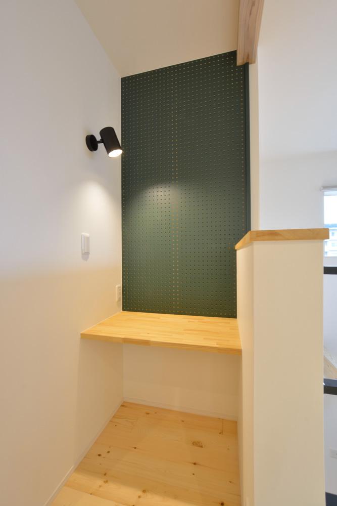 ホワイト+ブラウンの四角いお家、注文住宅Simple Box + Box(シンプルボックス+ボックス)13