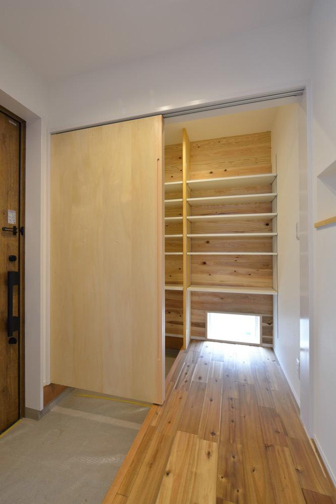 ホワイト+ブラウンの四角いお家、注文住宅Simple Box + Box(シンプルボックス+ボックス)18