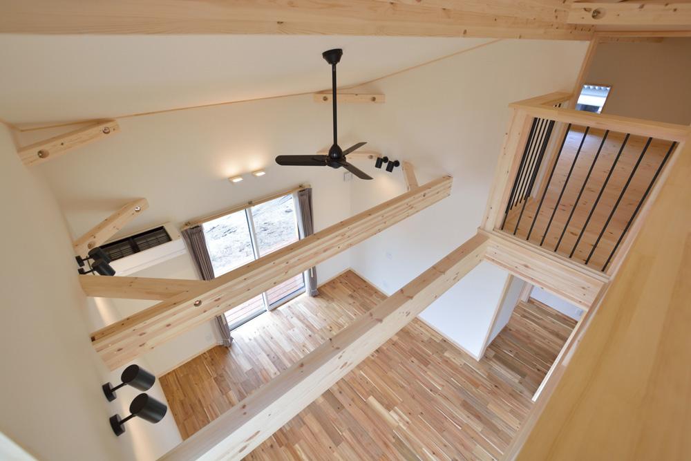 片流れ屋根とロフトのあるお家LOAFER(ローファー)16