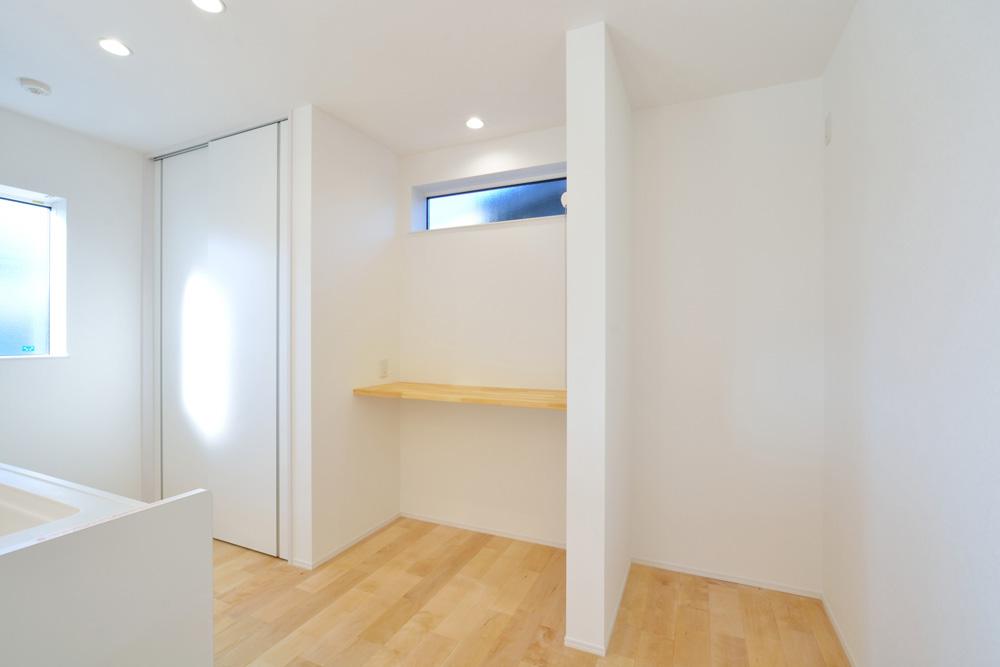 四角の白いお家、注文住宅Simple Box(シンプルボックス)06